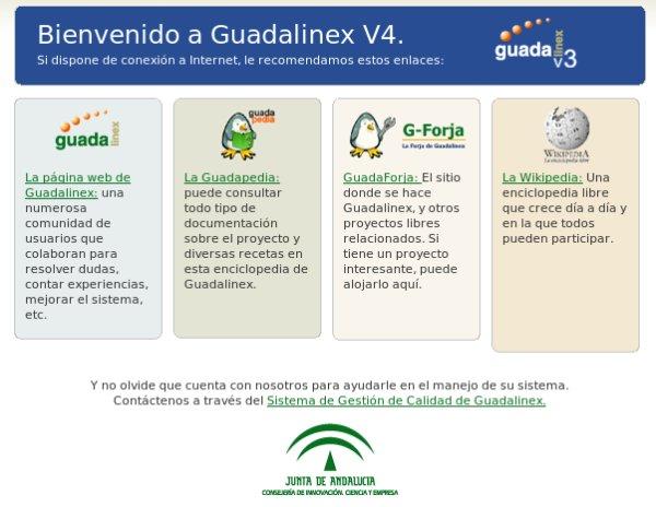 Guadalinex desktop 1