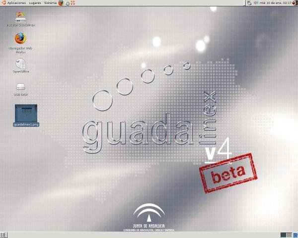 Guadalinex desktop 2
