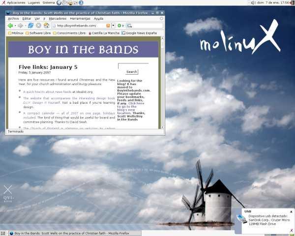 Molinux desktop 1