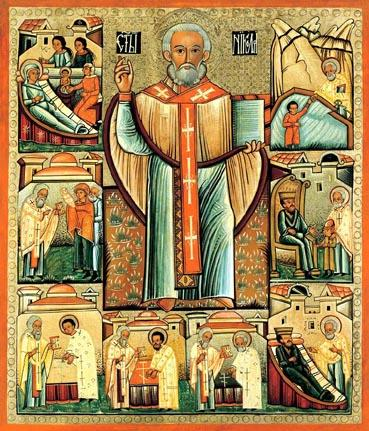 Ukrainian icon of St. Nicholas. Source: Wikipedia