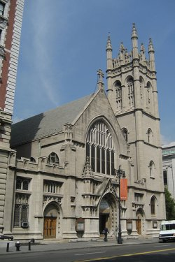 Fourth Universalist Church, New York. Image by wallyg. Used under Creative Commons Attribution 2.0 license